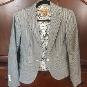 Peck and Peck Weekend Striped Blazer